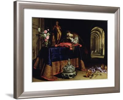 An Allegory of Repentance-Antonio Pereda y Salgado-Framed Giclee Print