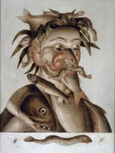 An Allegory of Water-Giuseppe Arcimboldo-Giclee Print