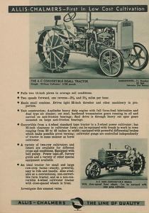 An Allis Chalmers Convertible Do-All Tractor Along with a Non-Convertible Do-All