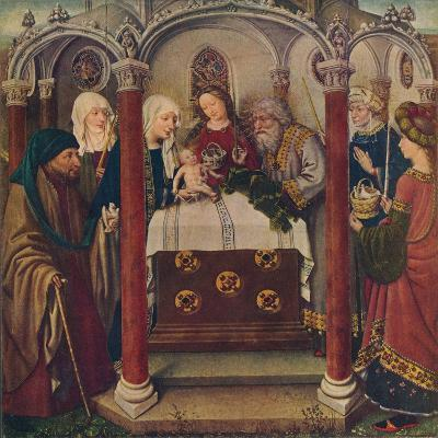 An Altar-Piece by the Maitre De Flemalle, 1907--Giclee Print