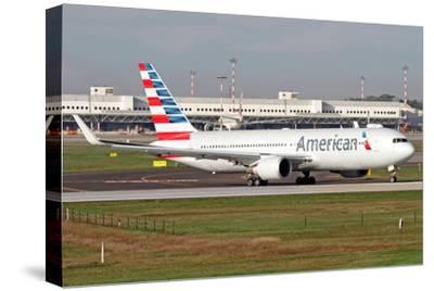 An American Airlines Boeing 767 at Milano Malpensa Airport, Italy