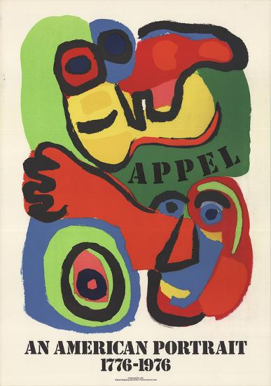 An American Portrait-Karel Appel-Collectable Print