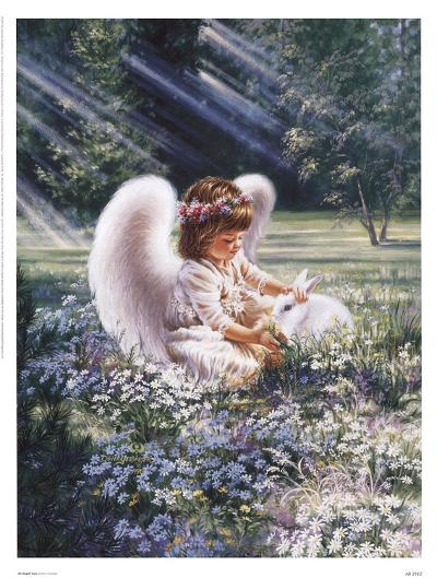 An Angel's Care-Dona Gelsinger-Art Print