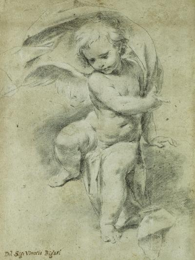 An Angel-Vittorio Maria Bigari-Giclee Print
