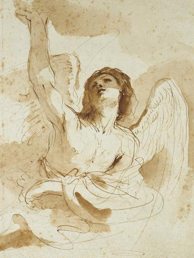 An Angel-Guercino-Giclee Print