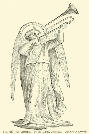 An Angel--Giclee Print
