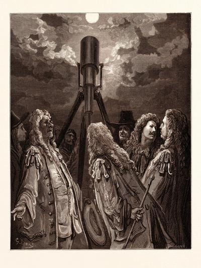 An Animal in the Moon-Gustave Dore-Giclee Print