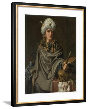 An Antique Artist--Framed Art Print