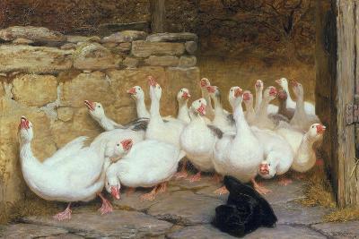 An Anxious Moment, 1878-Briton Rivi?re-Giclee Print