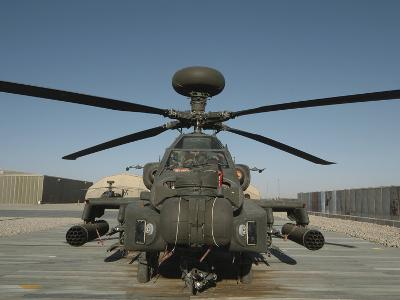 An Apache Helicopter at Camp Bastion, Afghanistan-Stocktrek Images-Photographic Print