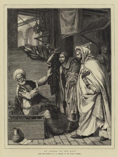 An Appeal to the Kaid-John Evan Hodgson-Giclee Print