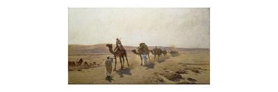 An Arab Caravan-Ludwig Hans Fischer-Premium Giclee Print