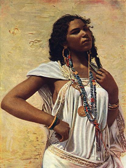 An Arab woman, 1912-Unknown-Giclee Print