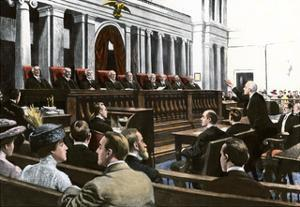An Argument Before the US Supreme Court, Chief Justice White Presiding, 1910