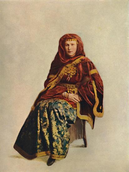 An Armenian woman of the Caucasus, 1912-Unknown-Giclee Print