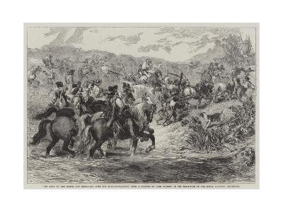 An Army on the March-Sir John Gilbert-Giclee Print