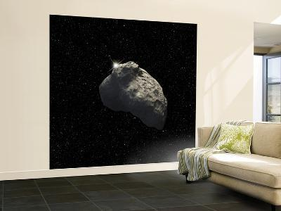 An Artist's Impression of a One-Half-Mile-Diameter Kuiper Belt Object--Wall Mural – Large