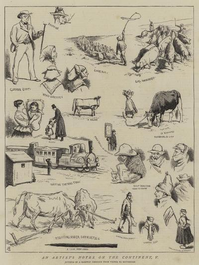 An Artist's Notes on the Continent, V-Alfred Chantrey Corbould-Giclee Print