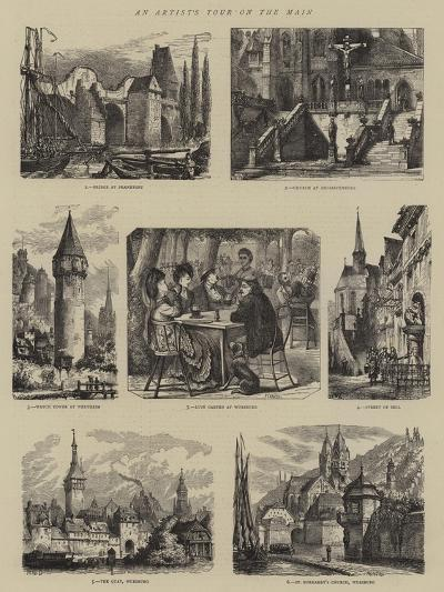 An Artist's Tour on the Main-Henry William Brewer-Giclee Print