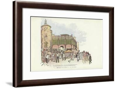 An Artist's Wanderings, at Hyeres-Phil May-Framed Giclee Print