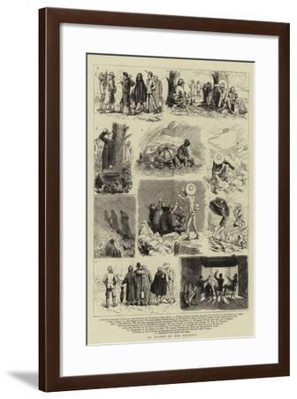 An Ascent of Ben Macdhui--Framed Giclee Print