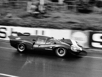 An Aston Martin Lola at Le Mans, France, 1967