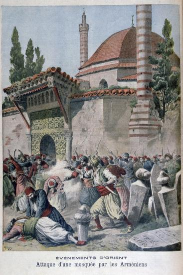 An Attack on a Mosque by Armenians, 1895-Henri Meyer-Giclee Print