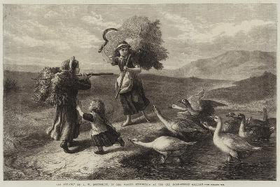 An Attack-John William Bottomley-Giclee Print
