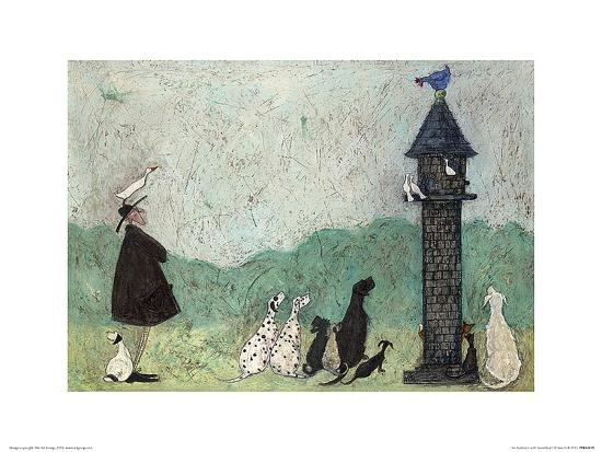 An Audience with Sweetheart-Sam Toft-Art Print