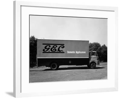 An Austin Ff K160 Lorry Belonging to the General Electric Co, Swinton, 1963-Michael Walters-Framed Photographic Print