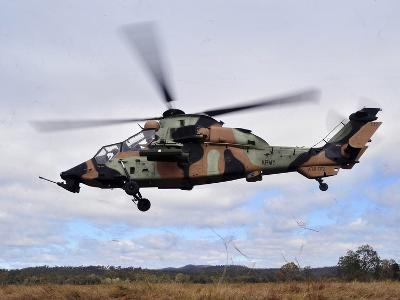 An Australian Army Tiger Helicopter Flies a Reconnaissance Mission-Stocktrek Images-Photographic Print