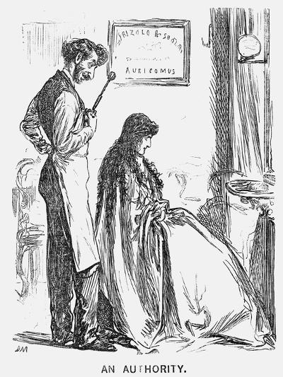 An Authority, 1866-George Du Maurier-Giclee Print