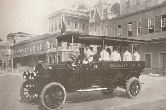 'An Automobile of the Military Police Force', 1914-Unknown-Photographic Print