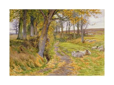An Autumn Afternoon-Charles James Adams-Giclee Print