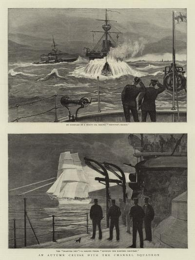 An Autumn Cruise with the Channel Squadron--Giclee Print