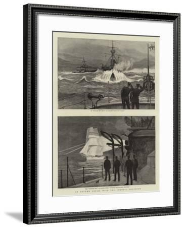 An Autumn Cruise with the Channel Squadron--Framed Giclee Print