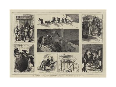 An Autumn Tour in Switzerland, VII, Climbing Mont Blanc-Sydney Prior Hall-Giclee Print