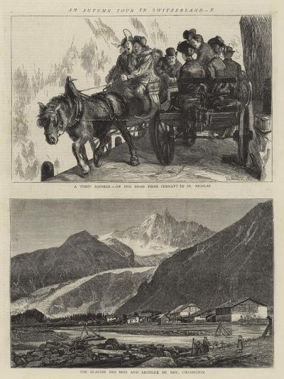 An Autumn Tour in Switzerland, X-Sydney Prior Hall-Giclee Print