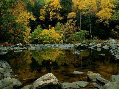 An Autumn View of Calf Pasture River-Medford Taylor-Photographic Print