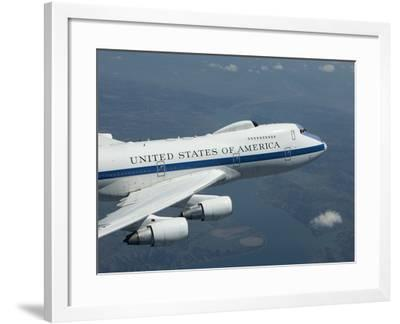 An E-4B National Airborne Operations Center Aircraft-Stocktrek Images-Framed Photographic Print