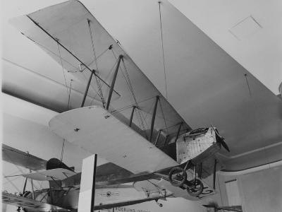 An Early Bi Wing Plane on Display at Museum of Science and Industry--Photographic Print