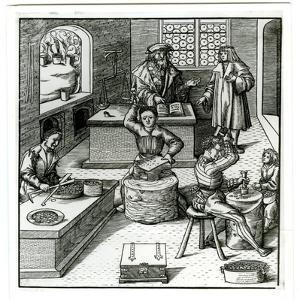 An Early Sixteenth-Century European Mint, from Der Weisskunig