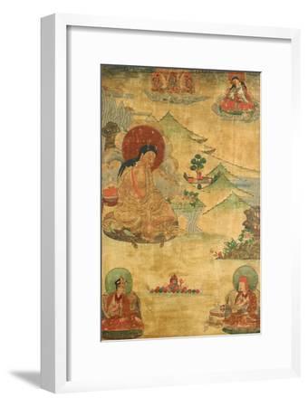An East Tibetan Thang.ka Depicting Mi.La.Ras.Pa, 19th Century