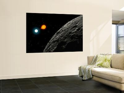 An Eclipsing Binary Star known as Algol, or Beta Persei-Stocktrek Images-Wall Mural