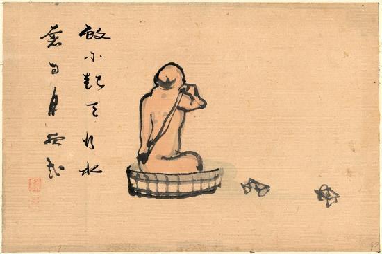 An Elderly Man--Giclee Print