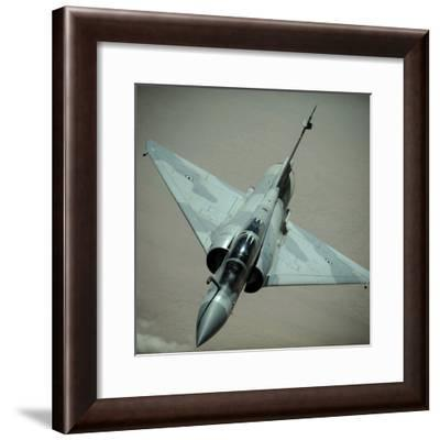 An Emirati Mirage 2000 Aircraft-Stocktrek Images-Framed Photographic Print