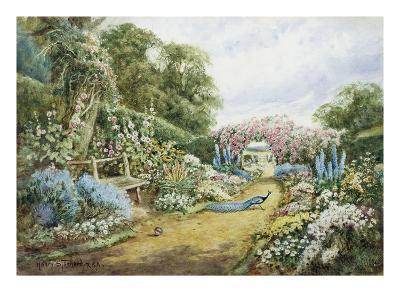 An English Country Garden-Henry Stannard-Giclee Print