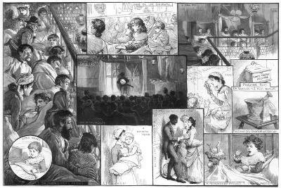 An Entertainment at King's College Hospital, 1885-Charles Joseph Staniland-Giclee Print