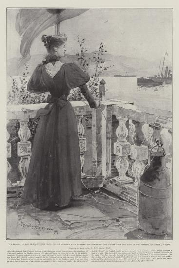 An Episode in the Graeco-Turkish War-Henry Charles Seppings Wright-Giclee Print