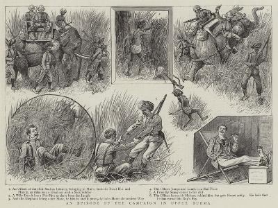 An Episode of the Campaign in Upper Burma-William Ralston-Giclee Print